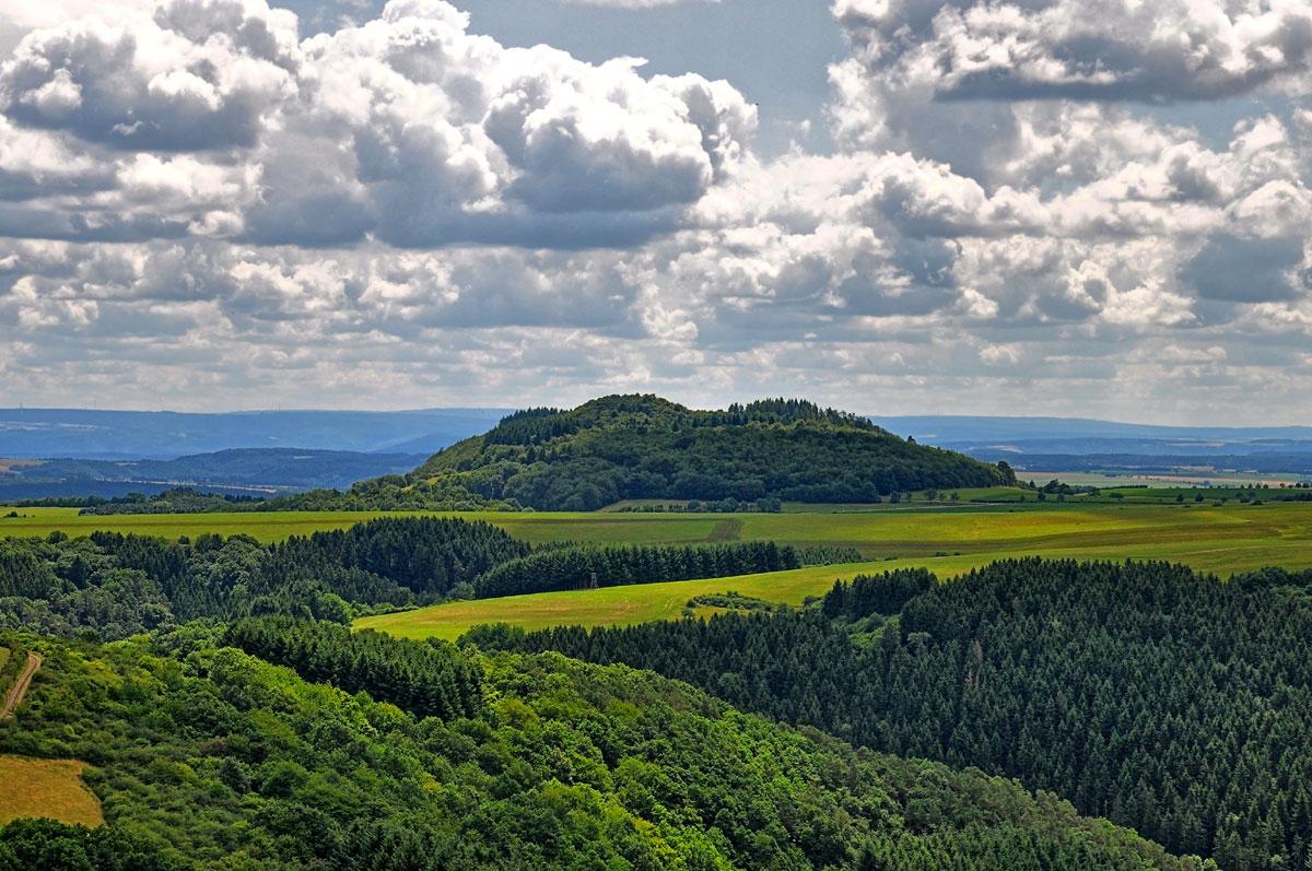 In der Eifel wandern